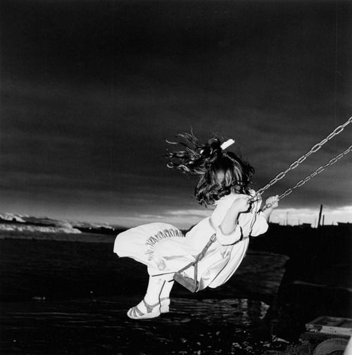 Issei Suda Untitled (Girl on swing), late 70s-1981