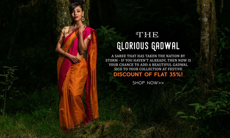 Top Trending Gadwal Sico Sarees Launched at generous 35% OFF!