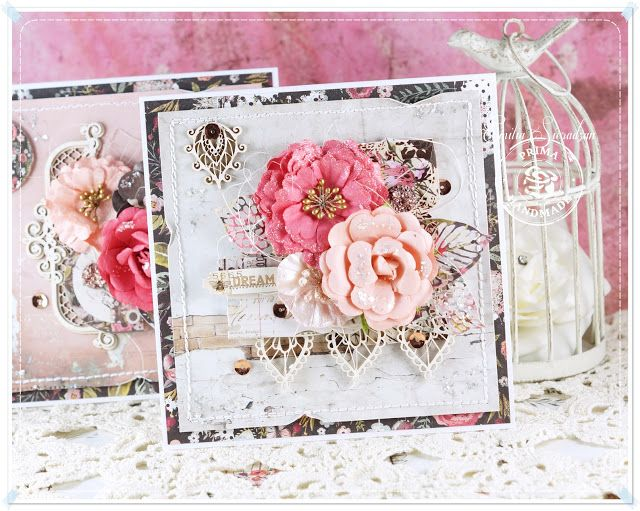 Scrap Art by Lady E: 2 Prima Rossibelle Cards