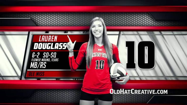 Texas Tech Volleyball Player Features (2014)