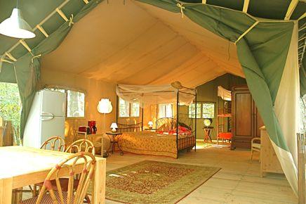 DROME - Le Grand Bois - camping / Sfeervol ingerichte safaritenten / gite