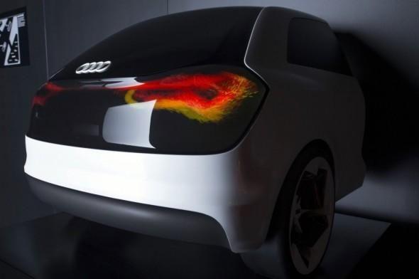 Audi Intelligent Swarm Tail Light Concept - wow! http://ubergizmo.com/?p=146216