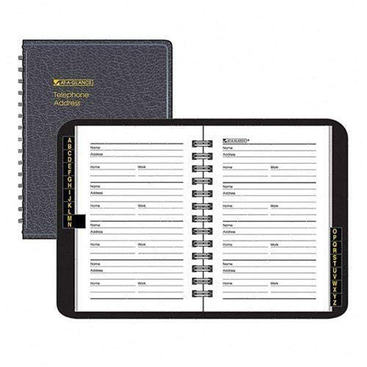 Pocket Address Book with Credit Card Holder – A7