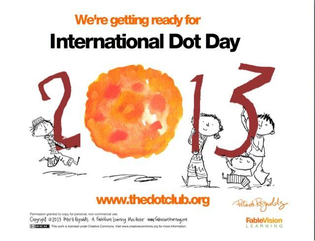 Best 17 International Dot Day! images on Pinterest   Internationaler ...
