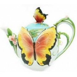 Gorgeous Butterfly teapot. Amazing detail. |Free Delivery in Australia at Red Wrappings|
