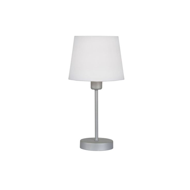 67 best table lamps images on pinterest cafe restaurant chrome oaks lighting alina with white shade white no light bulbs supplied compatible with low energy bulbs mozeypictures Gallery
