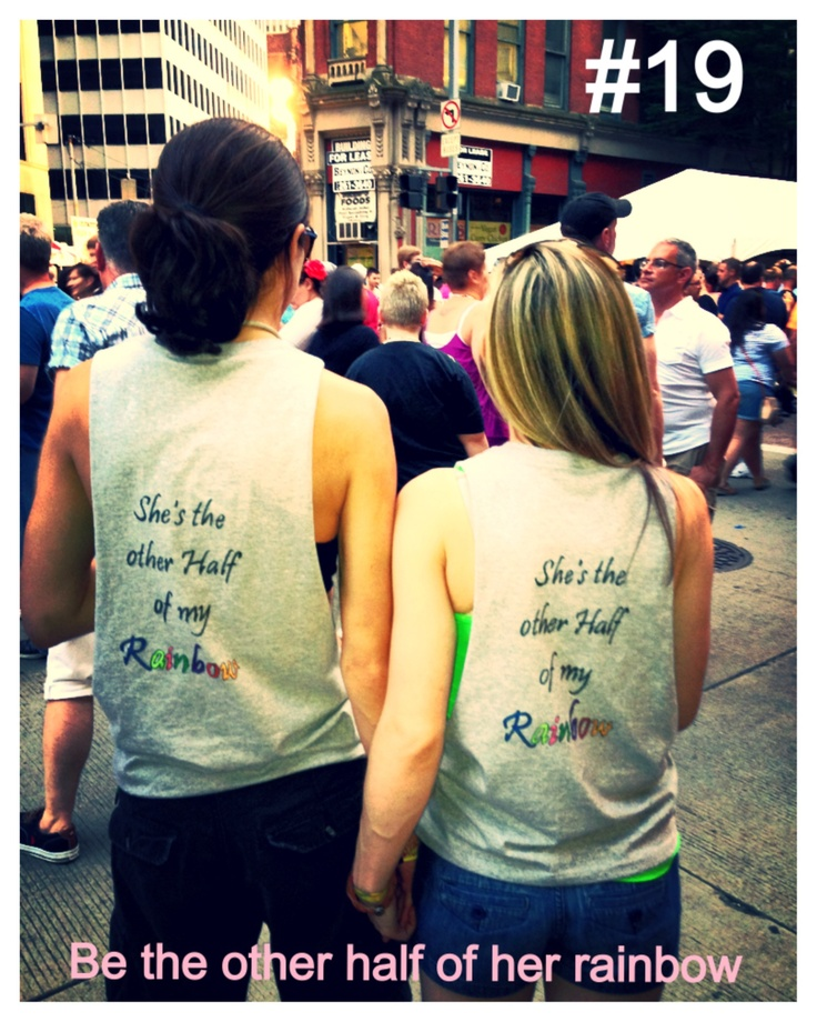Be the other half of her rainbow