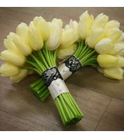 Wedding Party Floral by Frank Gallo Florist _ Albany New York #Tulipbouquet