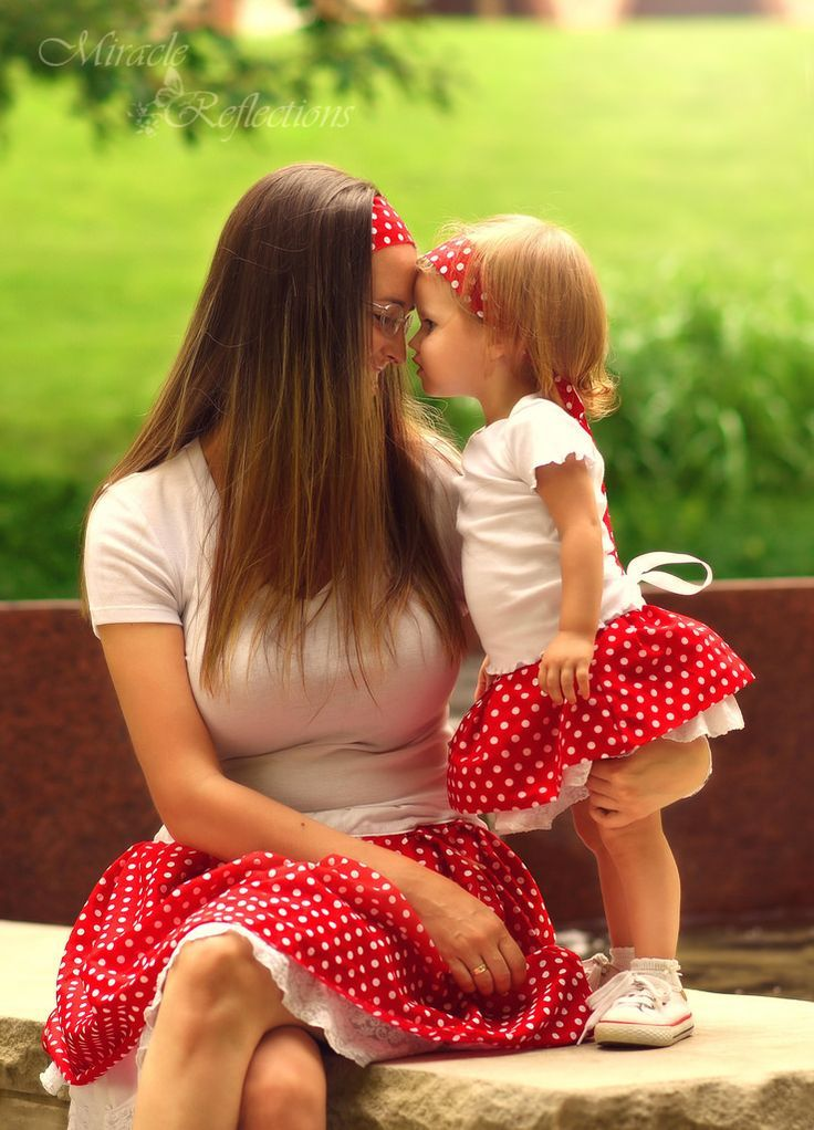 Mother Daughter Dress Alike