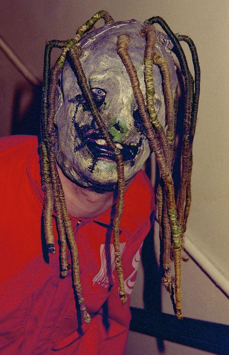 Austin's homemade Corey mask he'd wear at Reader's