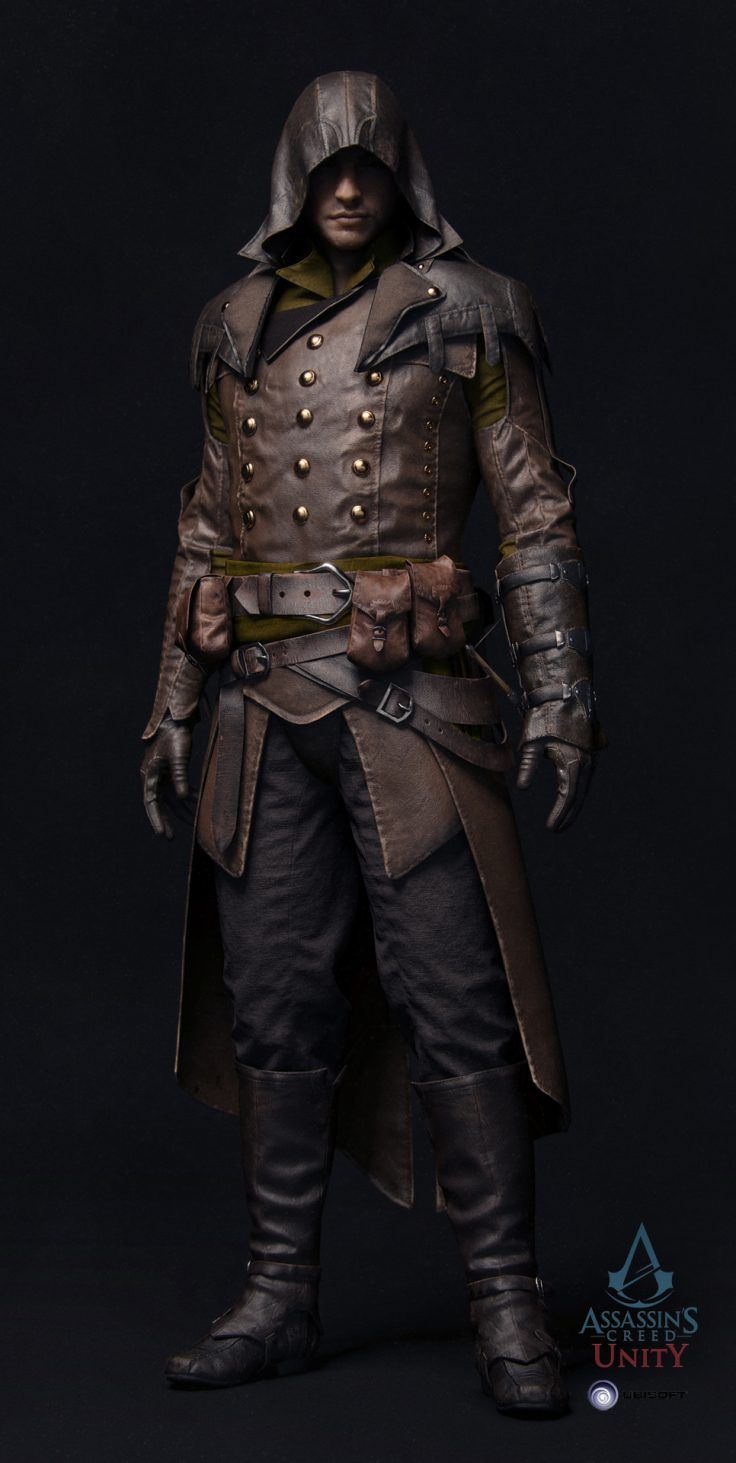 Assassin's Creed Unity - Arnaud by Vince Rizzi