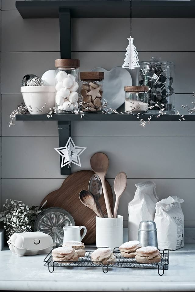 White Kitchen Christmas Decorating Ideas: The Story Of How White Lamps Will Change Your Winter