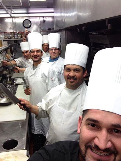 Chef's here at the Anaheim White House