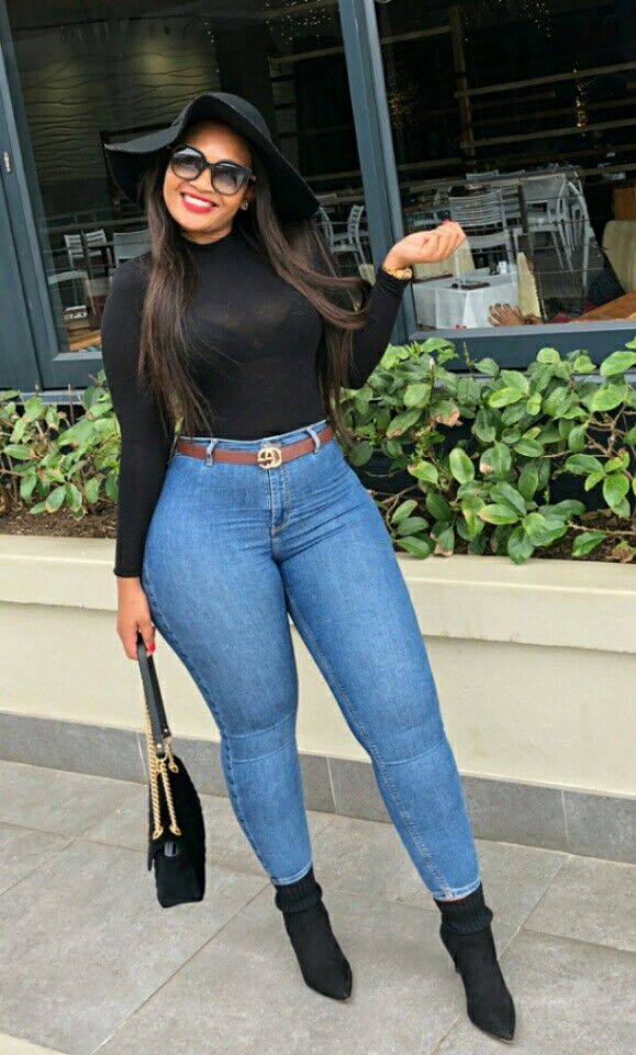 Palesa Blue Beauty Is Her Name Fashion Best Jeans