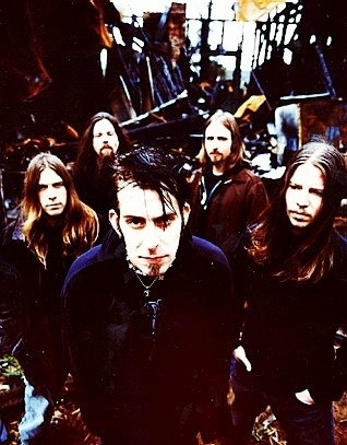 Lamb of god..The lead singer looks like my bf Dizzy <3