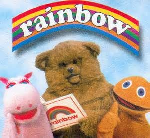 Rainbow (tv show) Zippy, George & Bungle