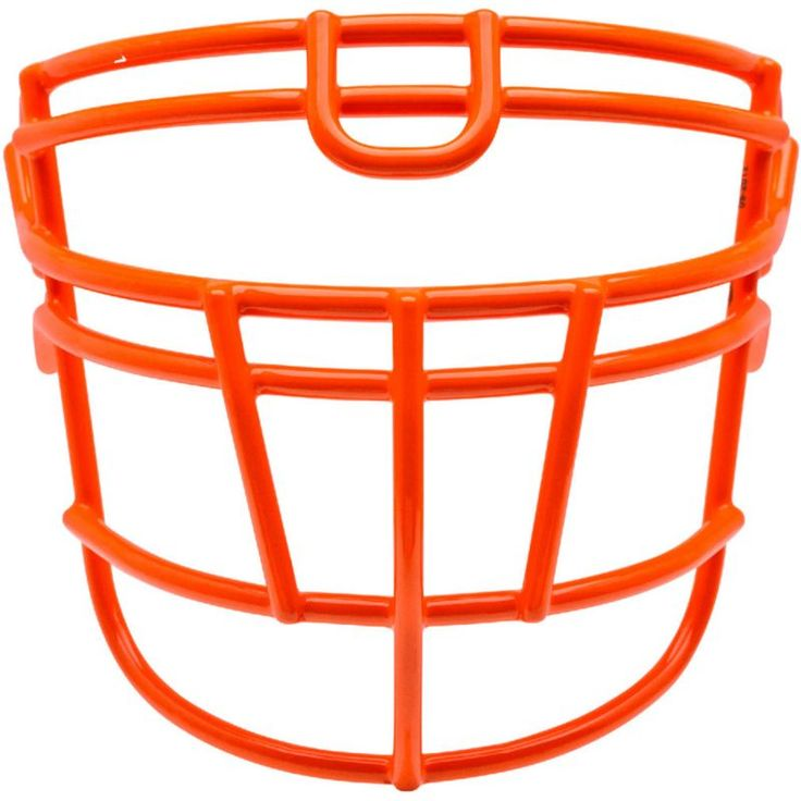 Schutt Varsity Super-Pro Rjop-UB-DW Titanium Football Facemask, Orange