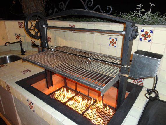 Custom Santa Maria BBQ's by LeasureConcepts on Etsy