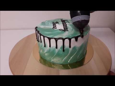 Сборка торта Kagat Cake - YouTube