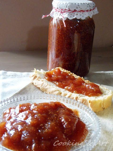 Mαρμελάδα σύκο με μέλι / Fig Honey Jam !