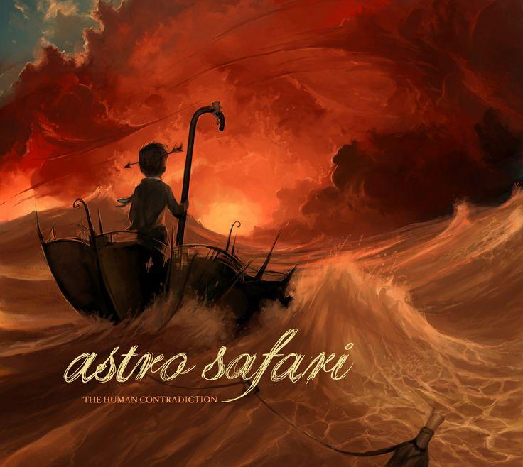 Cyril Rolando 2012 Astro Safari - The Human Contradiction [Astro Safari] #albumcover