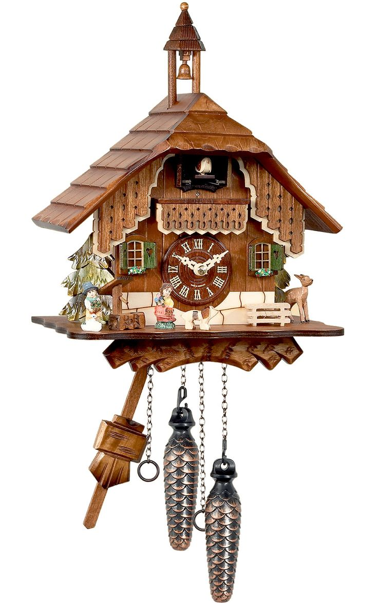 191 best cuckoo clocks images on pinterest cuckoo clocks black forest bell tower cuckoo clock the belltower quartz cuckoo clock brings a miniature swiss chalet into your home among this pieces exquisite carved amipublicfo Choice Image