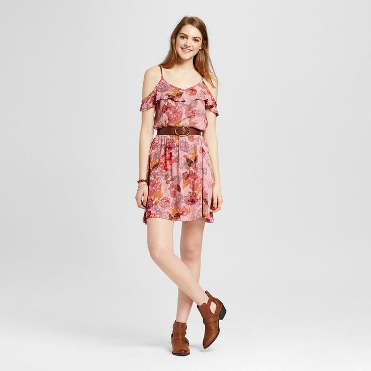 Women's Sun Dress Pink Xxl - Mossimo Supply Co.