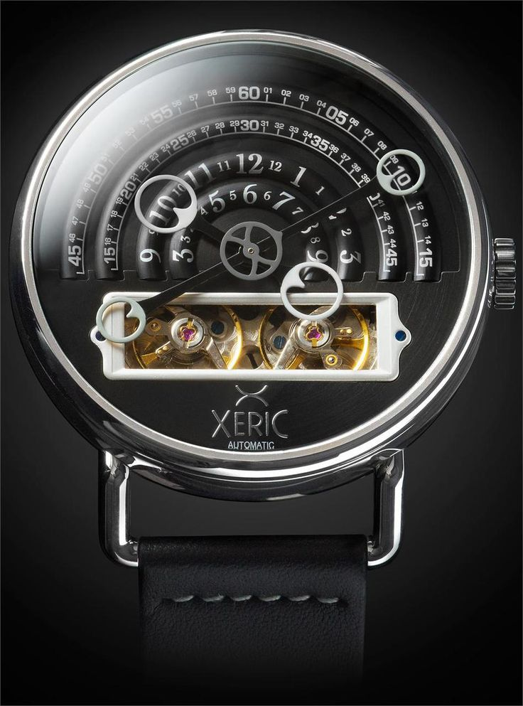 Xeric Watches - Halograph Automatic Black, $500.00 (http://www.xericwatches.com/halograph-automatic-black/)