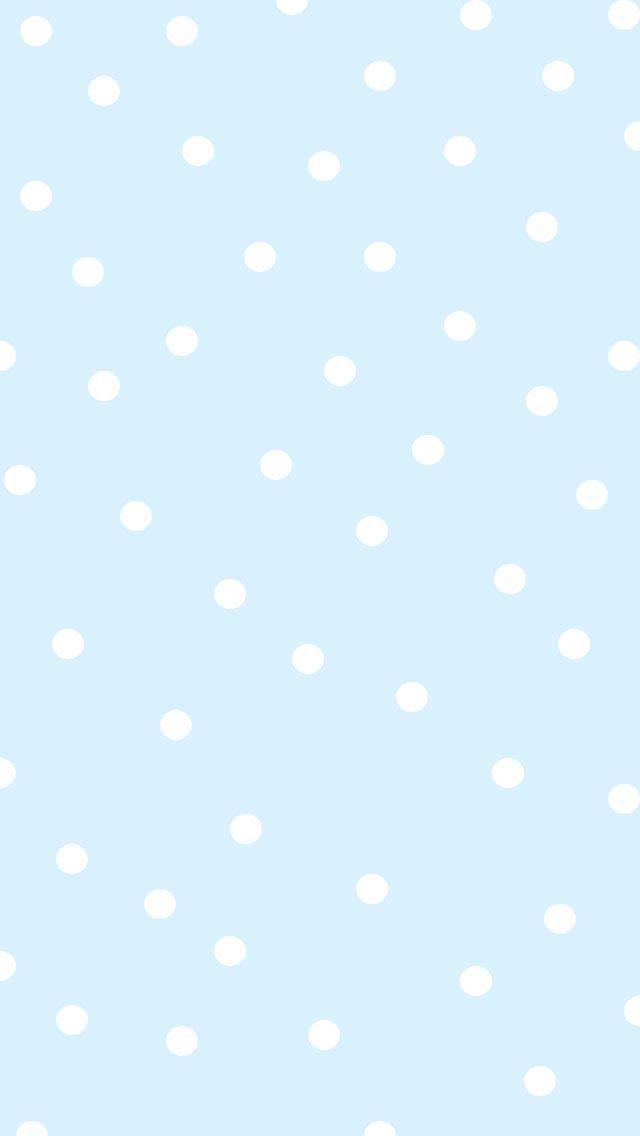 Iphone Wallpaper Plain Hintergrundbildiphone Tapete Blue Polka Dot Wallpapers Oder Hintergrund Fr Polka Dots Wallpaper Plain Wallpaper Iphone Dots Wallpaper Blue and white wallpaper for phone