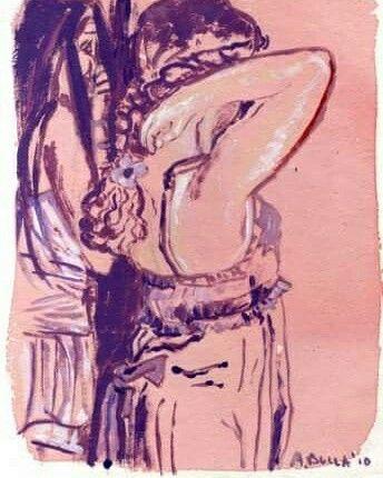 Illustrazione Rosa.  By Agata Bulla