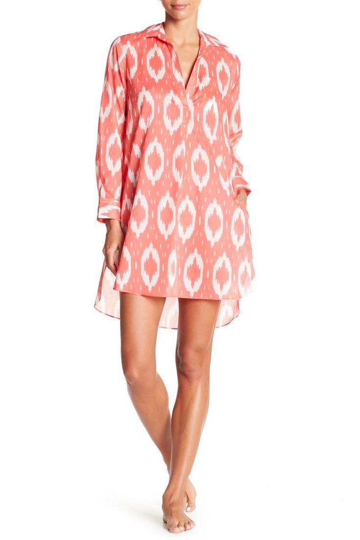 So cute!  Natori Batik Sleep Shirt