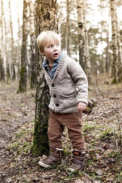 1409: Modell 1 Jakke med sjalskrave #SmartGarn #strikk #knit