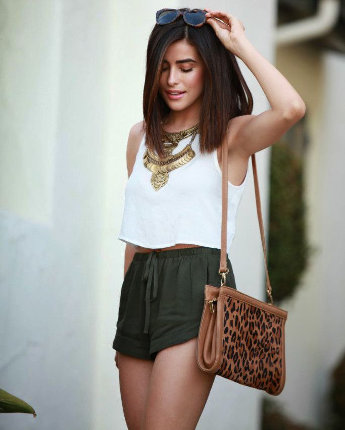 We LOVE this outfit! Check out these cute shorts.