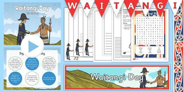 Waitangi Day Resource Pack - nz, new zealand, waitangi day, waitangi, treaty, activities