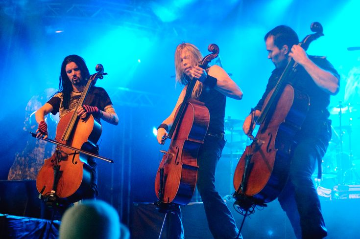 Apocalyptica - Not your grandparent's cello music