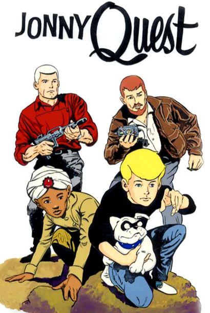 "Jonny Quest.. My mom ""almost"" named my brother Race.."