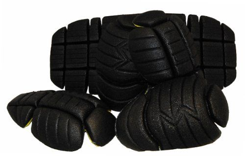 Vega Replacement CE Jacket Armor Set - 5 Piece (Black) - The replacement jacket armor comes in 5 pieces: 2 elbows, 2 shoulder and a back pad. These armor pieces are CE certified and will flex when you move. For installation just slip them into the pockets of any Vega Technical Gear jacket. Parts come standard with 1 year of manufacturer defect warranty. Established in 1994 with the goal of offering a quality product with the most wanted features at a reasonable price. Part of