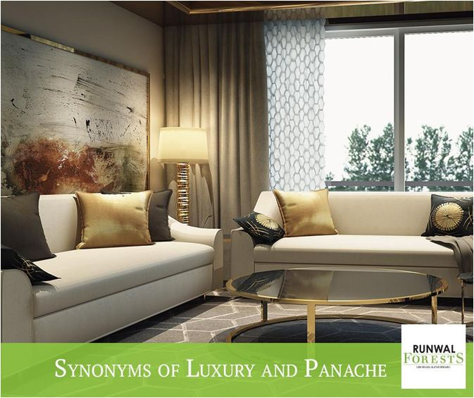 Runwal Forests - 2 BHK Flats in Kanjurmarg Mumbai. Runwal Group's residential projects are a melange of luxury and panache. Here you can experience a pure vibe of magnificence and indulgence. Visit website - www.runwalforests.com