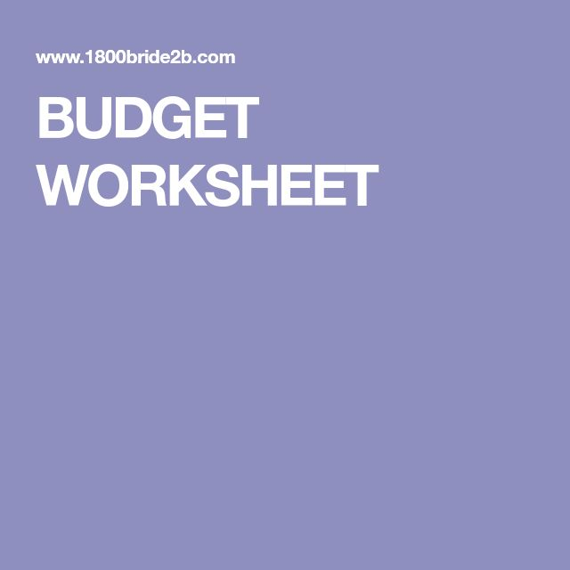 The 25+ best Wedding budget worksheet ideas on Pinterest Wedding - sample wedding budget