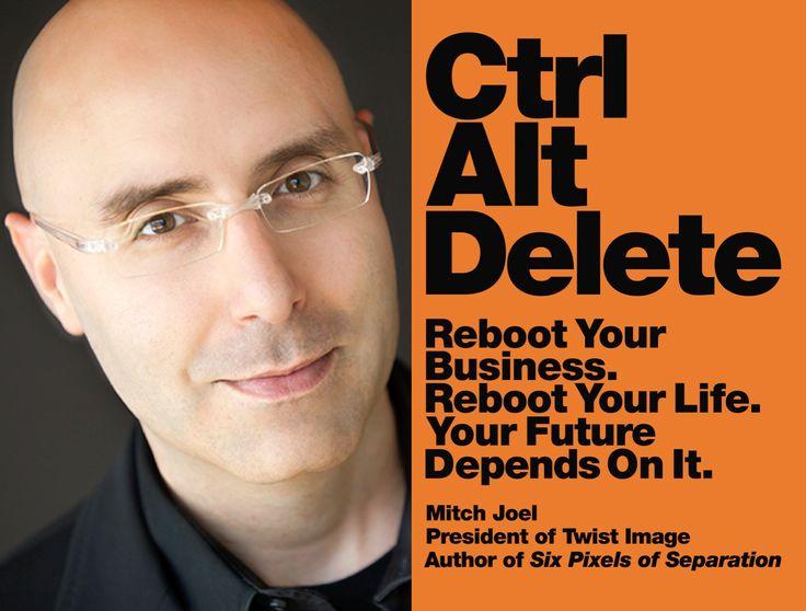 The Marketing Book Podcast: Ctrl Alt Delete by Mitch Joel > http://www.artillerymarketing.com/marketing-book-podcast/the-marketing-book-podcast-cntl-alt-delete-mitch-joel