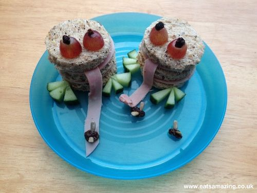 Eats Amazing - Frog Sandwiches with Funky Party book review