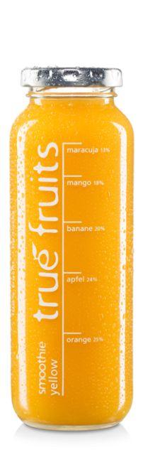 true fruits smoothie yellow (mit Mango & Maracuja)