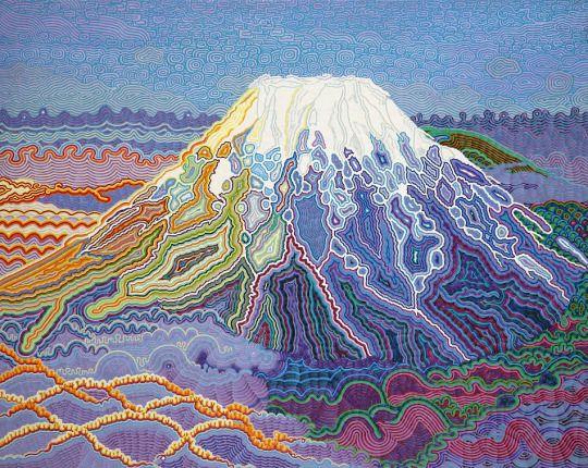 Original Art 13 - 加藤文博 [Teruhide Kato] (2004),  Life in Fluxus / フルクサス命