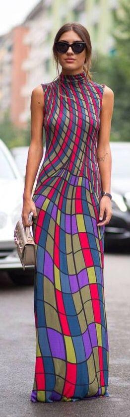 Street styles | Maxi dress