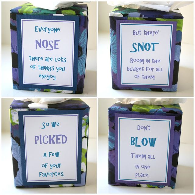 The funniest, most creative teacher gift I've seen on pinterest ....Bunches and Bits: Teachers Appreciation 2012 - Day Three