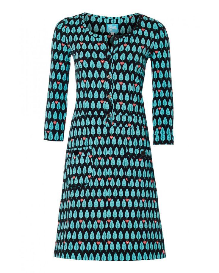 Tree print dress -Tante Betsy.com
