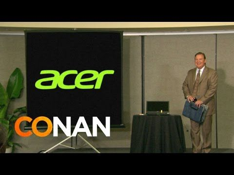 Conan O'Brien Presents Footage From the Acer Computers 2014 Keynote