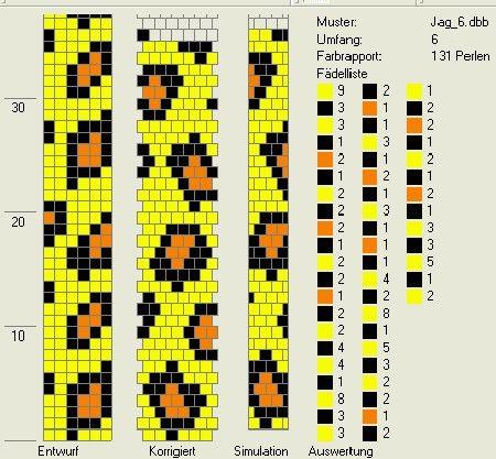 Marlene Brady: Bead Crochet Leopard Pattern