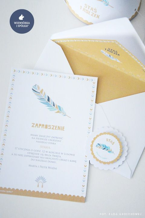 Birthday Invitations by Wiewiorka i Spolka