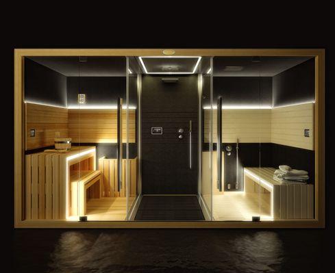 Jacuzzi Sasha hamman+shower+sauna